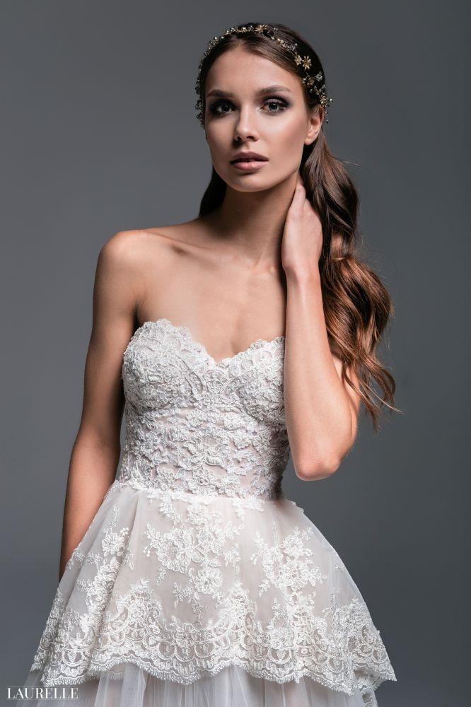 Rose - koronkowa suknia ślubna Warszawa Laurelle