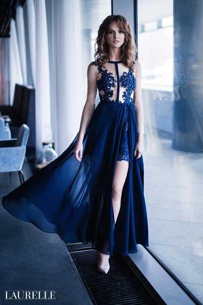 Aperta - Laurelle koronkowe suknie wizytowe