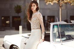 Savona - koronkowa suknia ślubna 2015