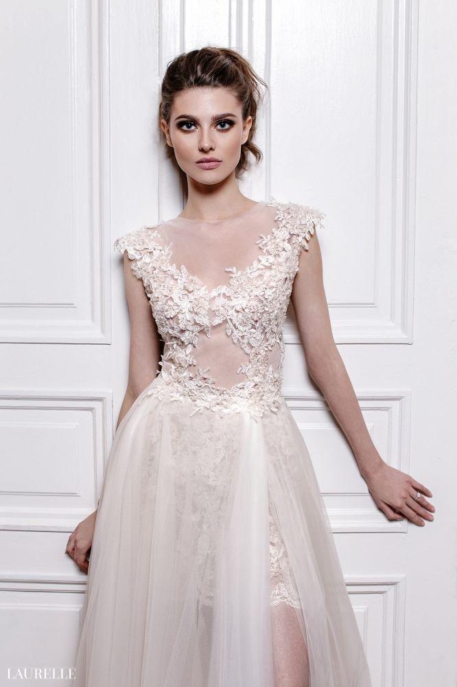 Nadine White - koronkowa suknia ślubna 2016