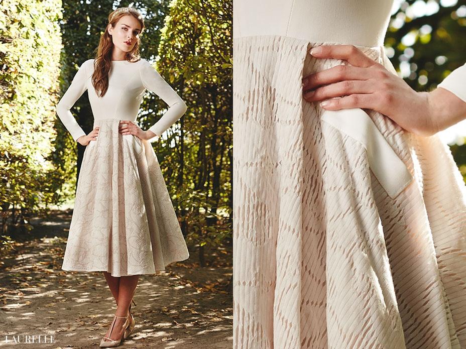 Verona - krótka suknia ślubna