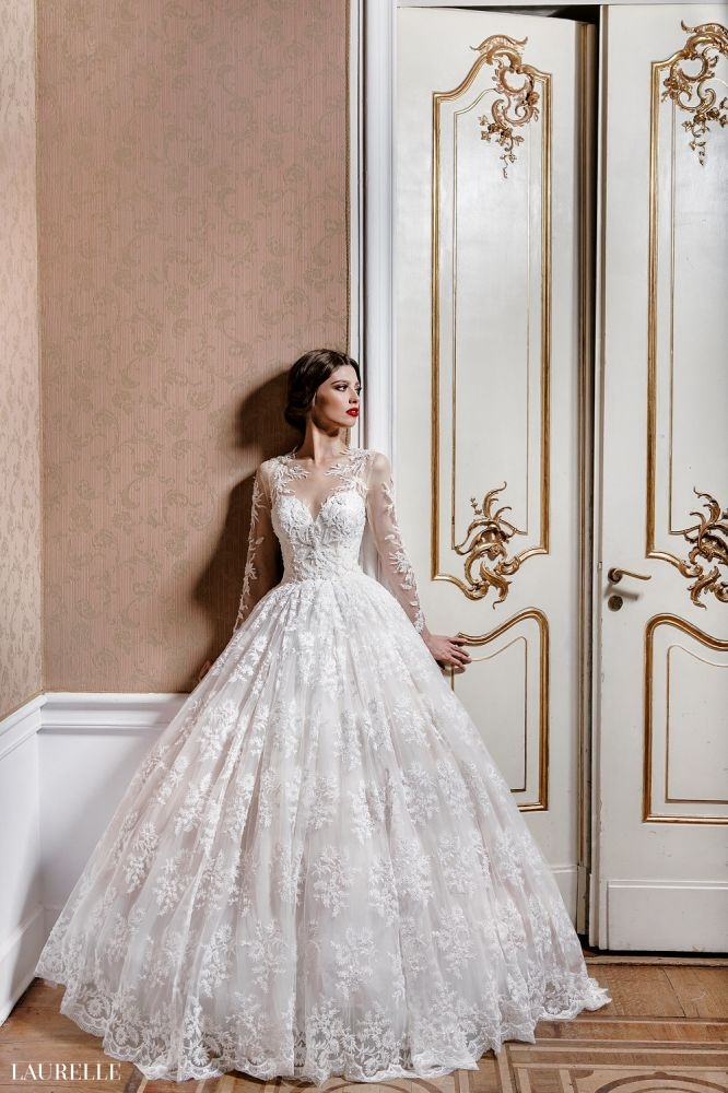 Flavia - Laurelle koronkowe suknie ślubne