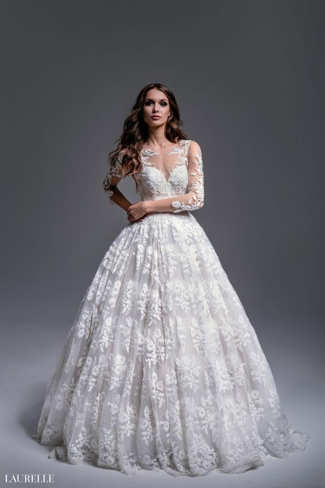 Flavia - koronkowa suknia ślubna Laurelle