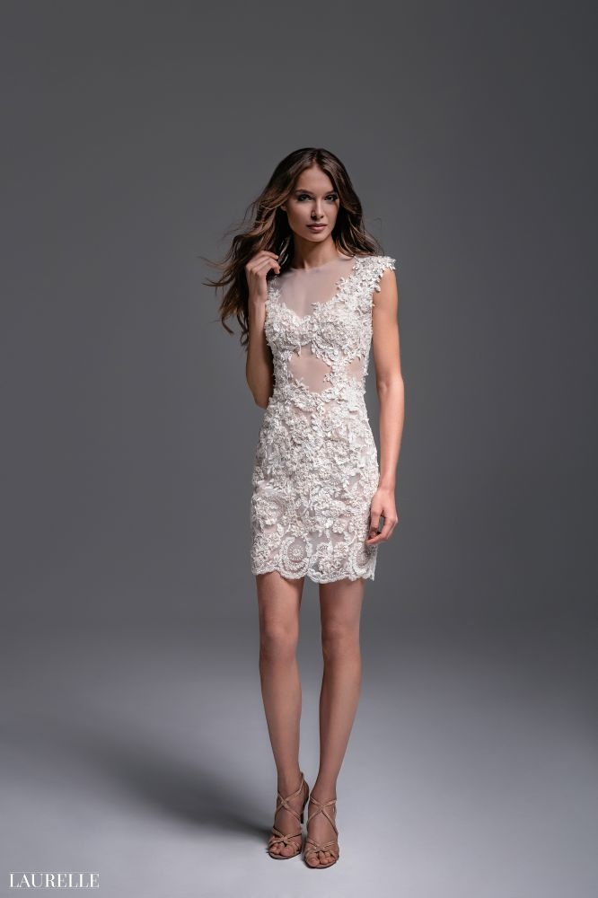 Laurelle - Nadine - koronkowa suknia ślubna