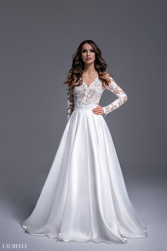 Laura - koronkowa suknia ślubna 2016 Laurelle