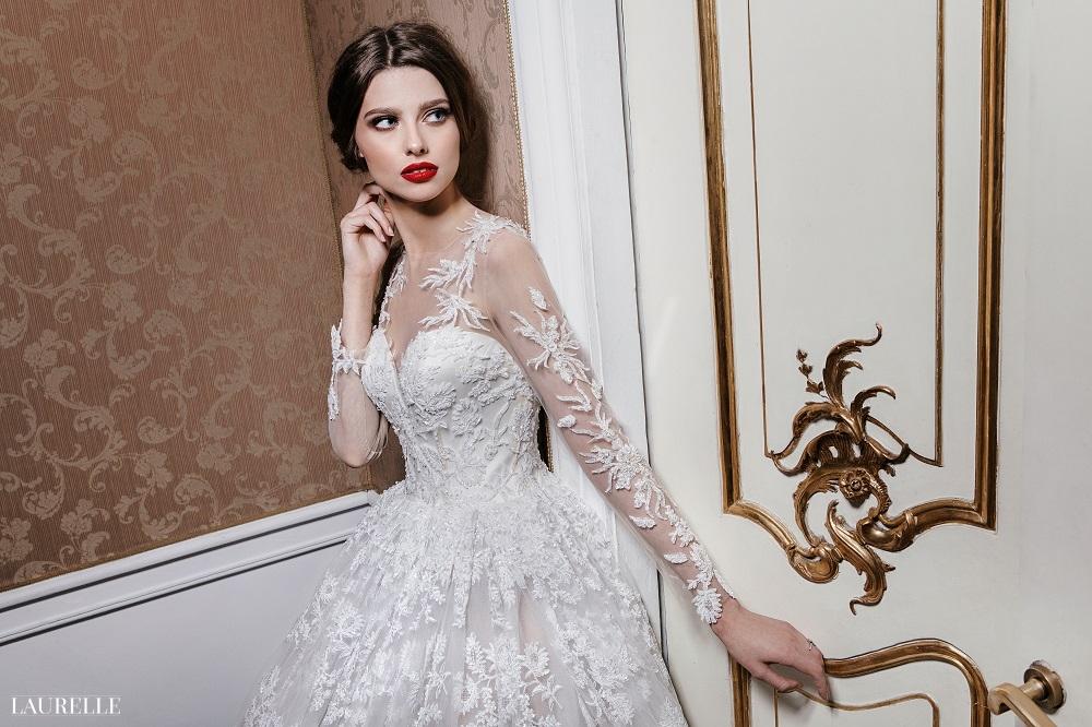 Koronkowa suknia ślubna Laurelle