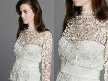 Mary - suknie ślubne koronkowe, trendy ślub 2016